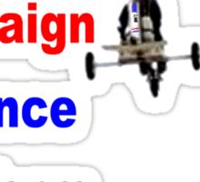 Demand Campaign Finance Reform Sticker