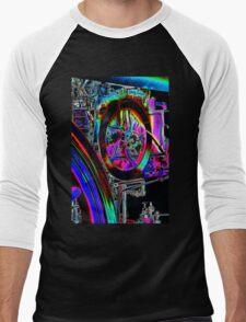 abstract engine Men's Baseball ¾ T-Shirt