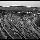 Germany, Tubingen station. by julienpz