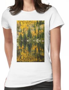 Autumn Reflections at Bear Lake Womens Fitted T-Shirt