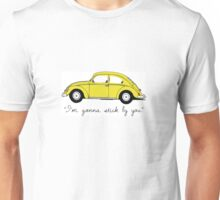 Bright Yellow Bug Unisex T-Shirt