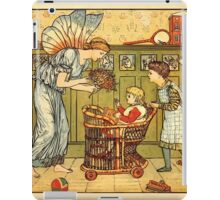 Walter Crane's Painting Book 1889 12 - For the Child Color iPad Case/Skin