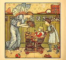 Walter Crane's Painting Book 1889 12 - For the Child Color by wetdryvac