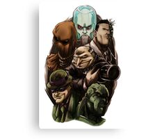 Asylum Villains   Canvas Print