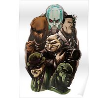 Asylum Villains   Poster