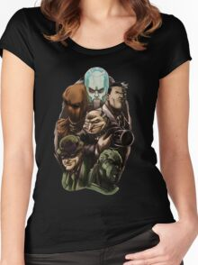 Asylum Villains   Women's Fitted Scoop T-Shirt