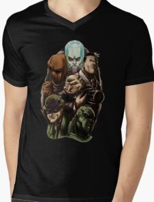 Asylum Villains   Mens V-Neck T-Shirt