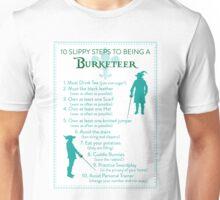 10 Slippy Steps ~ Burketeer Unisex T-Shirt