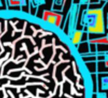 Brain^2 Sticker
