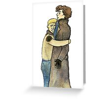 Squeezy Hugs Greeting Card