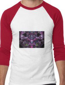 Dark Crabapple Men's Baseball ¾ T-Shirt