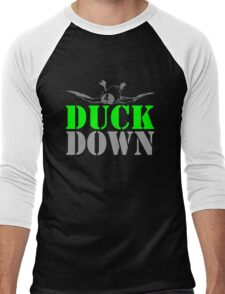 DUCK DOWN Men's Baseball ¾ T-Shirt