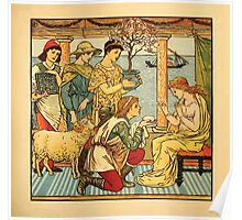 Walter Crane's Painting Book 1889 37 - Gifts Color Poster