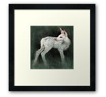 A Forest Ghost Framed Print