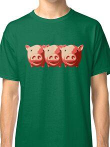 Three little pigs Classic T-Shirt
