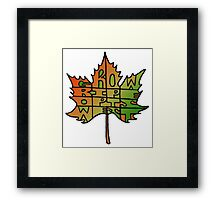 Grow Ripe Opts West – 7 Framed Print