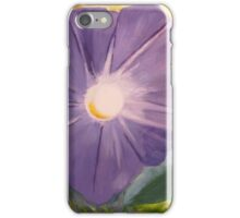 Morning Glory with Marigolds iPhone Case/Skin