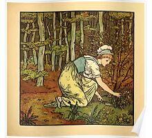 Walter Crane's Painting Book 1889 49 - On The Path Color Poster