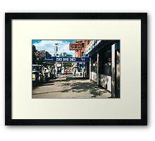 New York Deli Framed Print
