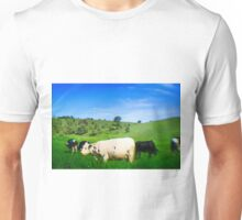 Cows in a Pasture Unisex T-Shirt