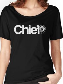 Project Chief  |  White Women's Relaxed Fit T-Shirt