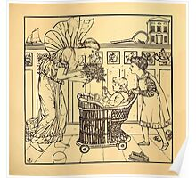 Walter Crane's Painting Book 1889 13 - For the Child Lines Poster