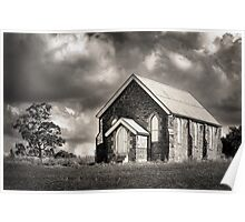 Country Church . . . Poster