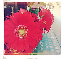 Flowers at the Market - 1 Photographic Print