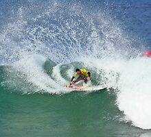 Joel Parkinson wins 2009 Rip Curl Pro at Bells Beach 2 by Andy Berry