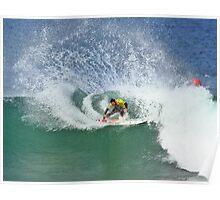 Joel Parkinson wins 2009 Rip Curl Pro at Bells Beach 2 Poster