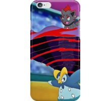 Prinplup and Zorua in a Pokemon Contest iPhone Case/Skin