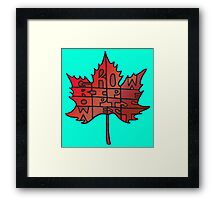Grow Ripe Opts West – 5 Framed Print