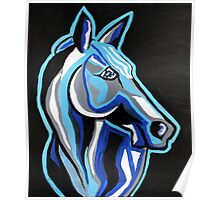 Until I See You Again - Abstract Horse Art by Valentina Miletic Poster