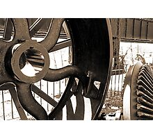 The Wheel Photographic Print