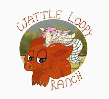 Wattle Loopy Ranch Logo Unisex T-Shirt