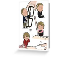 Tiny Hannibal 4 in 1 Greeting Card
