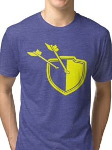 Clash of Clans Minimalist Shield Logo Tri-blend T-Shirt