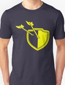 Clash of Clans Minimalist Shield Logo Unisex T-Shirt