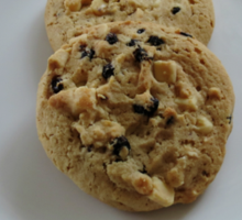 White Chocolate and Blueberry Luxury Cookies Sticker