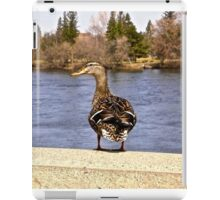 Daft Duck - Ottawa, ON Canada iPad Case/Skin