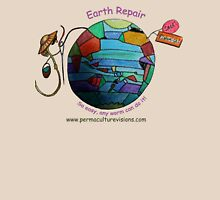Easy Earth Repair by Wormy Womens Fitted T-Shirt