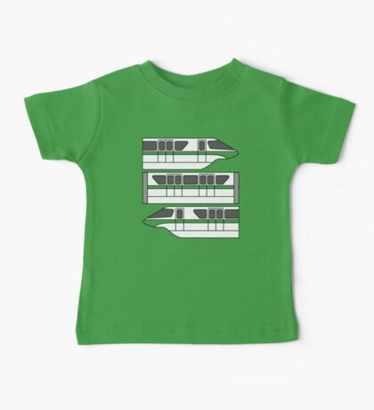 Color Changing Monorail Baby Tee
