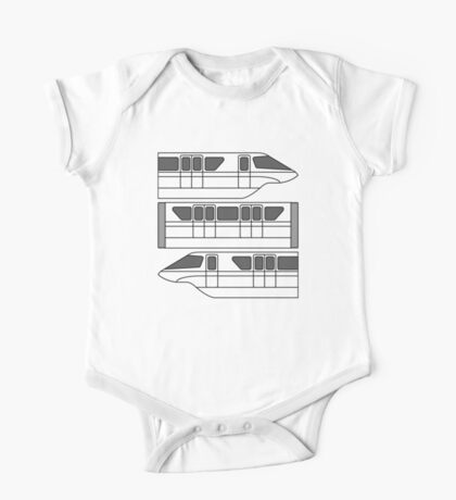 Color Changing Monorail One Piece - Short Sleeve