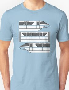 Color Changing Monorail Unisex T-Shirt