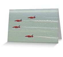 4 Arrow - Airbourne 2014 Greeting Card