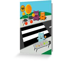 Stop! Lolly time! -  Card Greeting Card