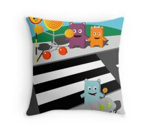 Stop! Lolly time! -  Card Throw Pillow
