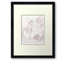 sketch Framed Print