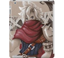 Toned Paper Cloud Strife iPad Case/Skin