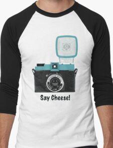 Say Cheese! Men's Baseball ¾ T-Shirt